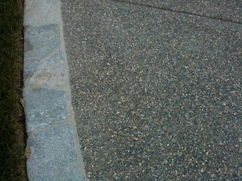 How to Build an Exposed Aggregate Patio