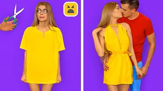 EASY DIY CLOTHES HACKS! Back to School Fashion Hacks & DIY Outfit Ideas by Mr Degree