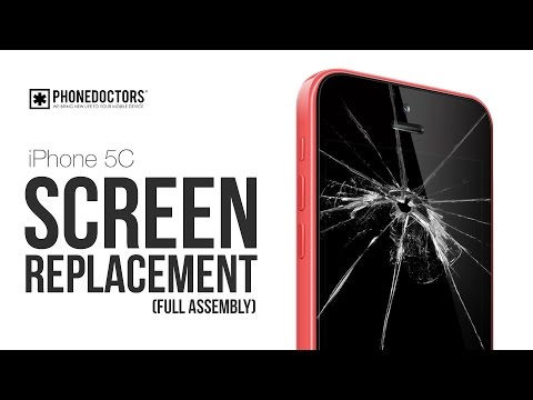 How to: iPhone 5C LCD/Digitizer Screen Replacement (Full Version)