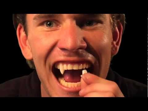 Halloween Tutorial: How to custom fit Vampire Fangs by Scarecrow