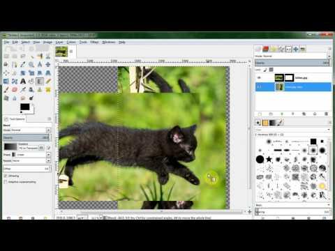 Extend a Photo with GIMP