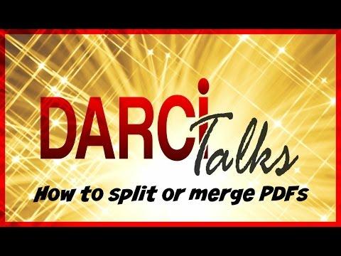 How to merge or split PDF's (Helpful for REALTORS®)