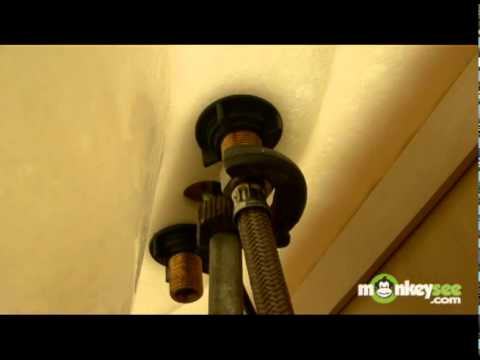 Replacing  A Bathroom Faucet - Faucet Installation Part 2 of 2