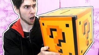 NEW GIANT LUCKY BLOCK SURPRISE BOX!!!