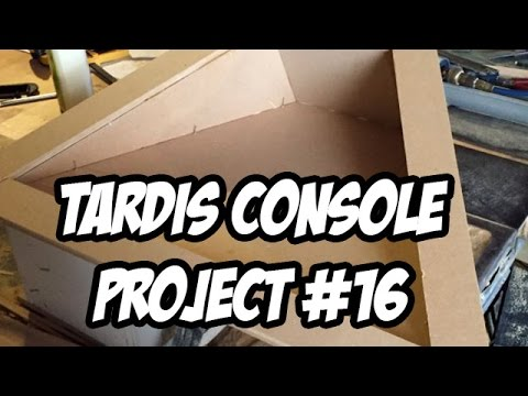 TARDIS Console Project #16 - The Bottom Drawers - Building and setting them up.