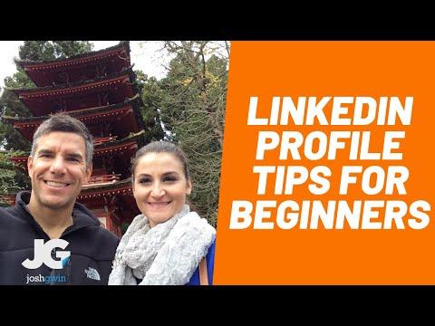 LinkedIn Profile Tips 2017