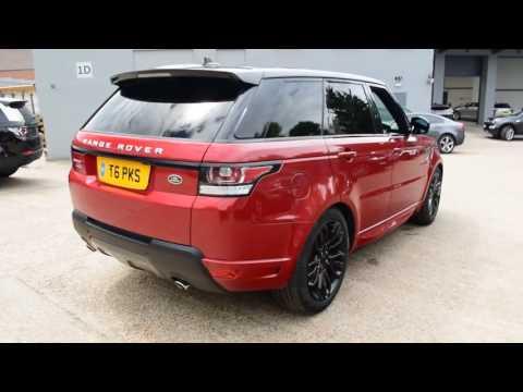T6PKS Land Rover Range Rover Sport SDV6 AUTOBIOGRAPHY DYNAMIC 3l BEADLES LAND ROVER SIDCUP