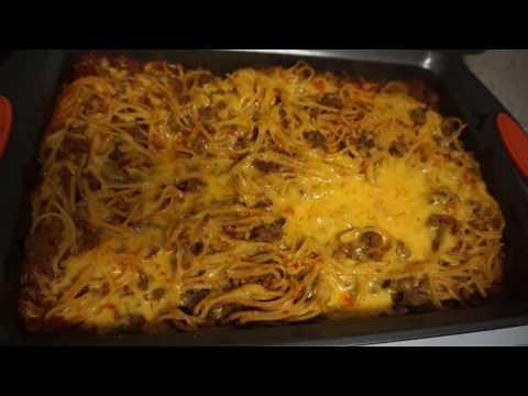 Oven Baked Spaghetti Recipe! SOUTHERN SMOKE BOSS