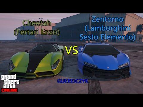 GTA V: Cheetah (Ferrari Enzo) vs Zentorno (Lamborghini Sesto Elemento) [11]