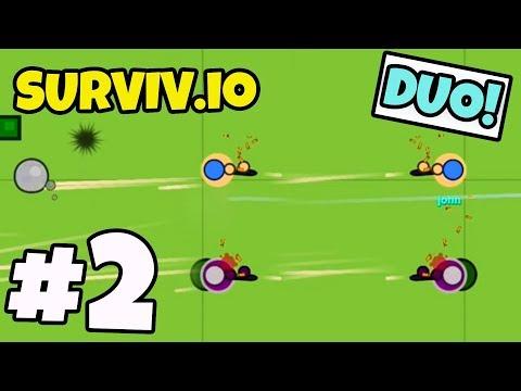 I CARRY MY DUO PARTNER! - Surviv.io #2 (PUBG.io / FORTNITE.io)