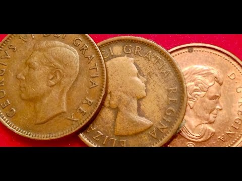 Canadian Pennies To Look For: 1947-2008