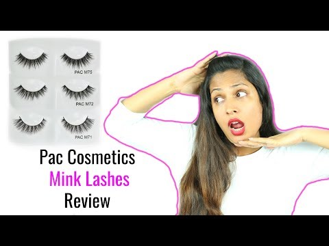 PAC Mink Eye Lashes Review #WeekendReviews