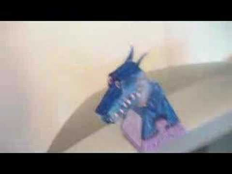 dragon optical illusion