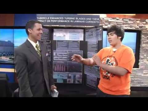 Students Present Projects Featured At Science and Engineering Fair