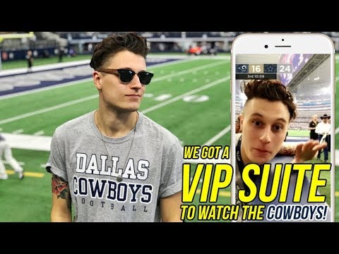 Dallas Cowboys Vs LA Rams at AT&T Stadium (VIP SUITE)