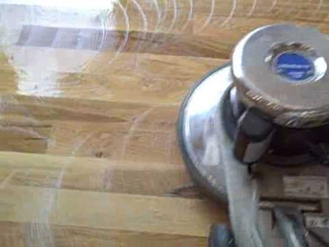 Wood Floor Cleaning and Rejuvenation by UltraSteam