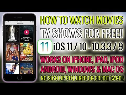 NEW How To Watch Movies & TV Shows For FREE (Alternative Netflix!!) iOS 10/11/9 - iPhone, iPad, iPod