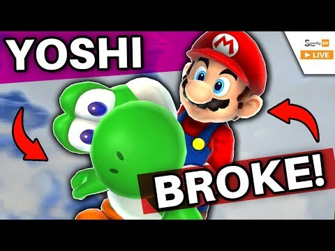 How Flying BREAKS Yoshi in Super Mario Galaxy 2!
