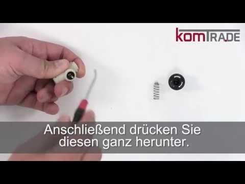 Miele CM6xxx Auslaufventil reparieren-revidieren-überholen Reparaturanleitung