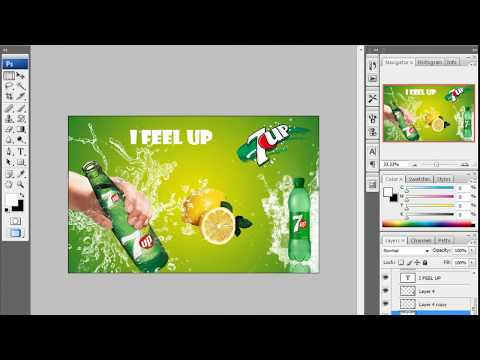 Banner Design (Bangla) Tutorial By Photoshop