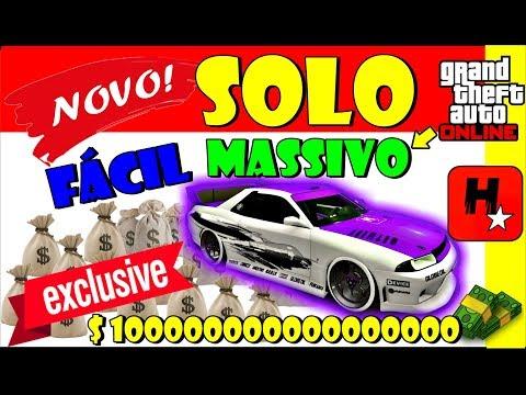 Solo Money Glitch GTA 5 online💲Glitch Solo dinheiro infinito💲Glitch duplicar carros Solo PS4 X1 PC