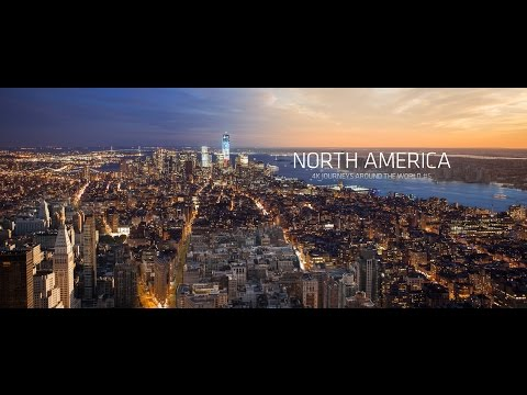 North America 4k   USA and Canada