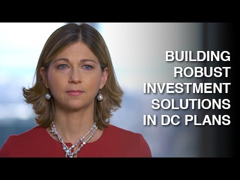 Building robust investment solutions in DC plans