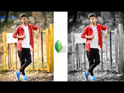 Snapseed Black & White Background Editing |Snapseed New Editing Tricks |Snapseed Effects Editing