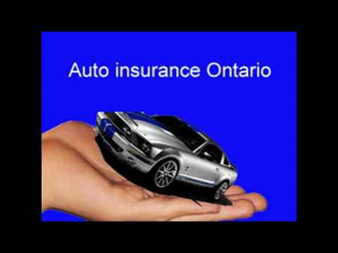 Auto insurance in Ontario