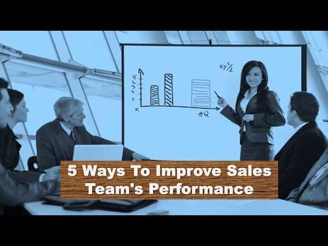 How To Improve Sales Team's Performance