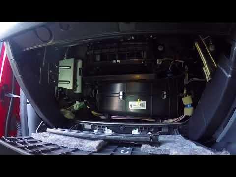 Ford Ranger Cabin Filter Change Ford Everest Mazda BT50 Wildtrak