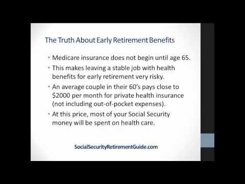 The Truth About Social Security Early Retirement