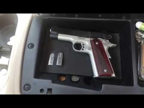 Console Vault Gun Magnet Installed In My 2015 Ford F150 Gun Case