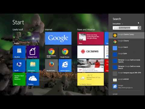 Windows 8.1 Back to the basics How to use seach in Windows