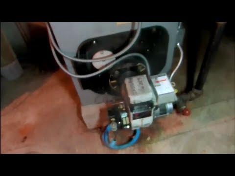 peerless/becket  oil fired boiler ,no hot water,t jernlund  powerventer