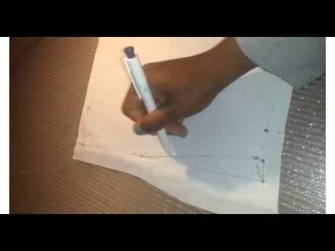 DIY TUBE PEPLUM  TOP: Part 1 - pattern creation.