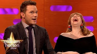 Chris Pratt Swam In Pee On The Jurassic World  Set   The Graham Norton Show