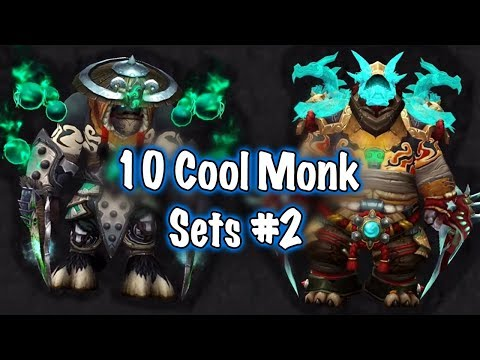 Jessiehealz - 10 Cool Monk Transmog Sets #2 (World of Warcraft)
