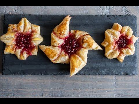 Denmark  Raspberry Danish recipe