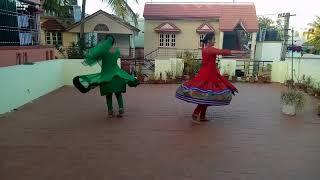 Kathak performance |Vishwaroopam| Nidhi- Sujana