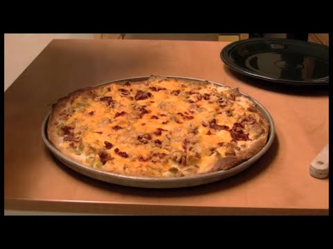 Breakfast Pizza with Michael's Home Cooking