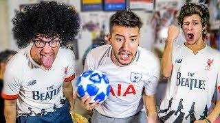 REACCIONES de AMIGOS   FINAL CHAMPIONS 2019   Tottenham vs Liverpool