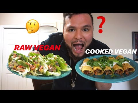 WHAT TASTES BETTER: RAW OR COOKED VEGAN FOOD?