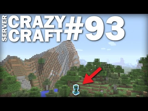 MINECRAFT PS4 - CHARGED CREEPER -FTW - CRAZY CRAFT #93 - PS3 / XBOX - LETS PLAY