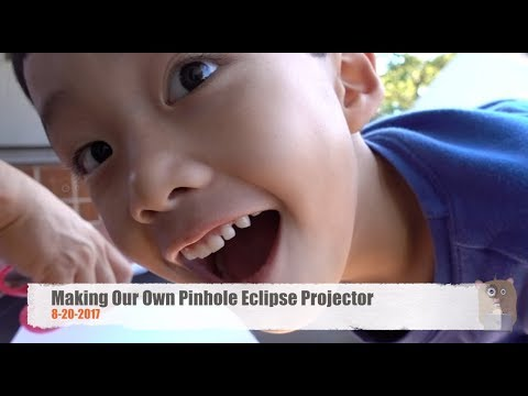 Making Our Own Pinhole Solar Eclipse Projector