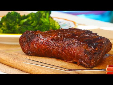 Grilled Tri-Tip With Rosemary Glaze