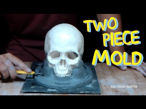 Making A Two Part Mold - Sculpting For Silicone Rubber