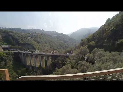 In Circumvesuviana, Naples - Sorrento train (Part II)