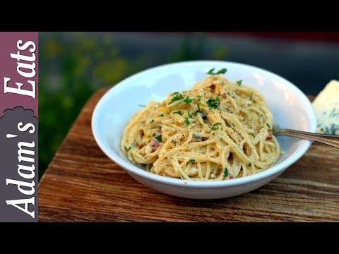 Spaghetti with blue cheese sauce | Easy pasta recipe