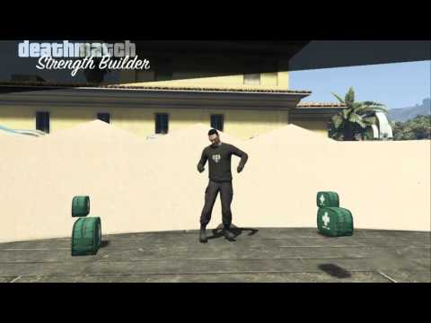 Maxing Strength in GTA Online